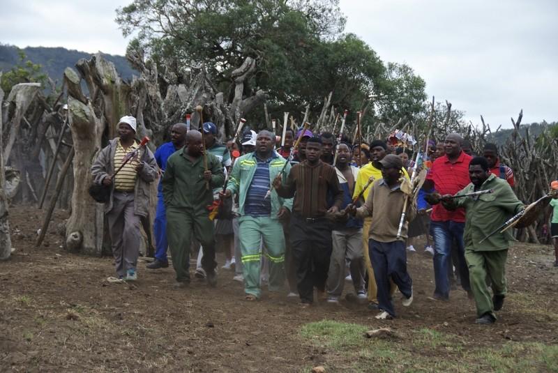 Umkhehlo – förlovning på zuluvis