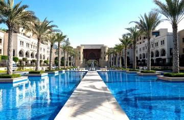 Fantastiskt palats i Dubai